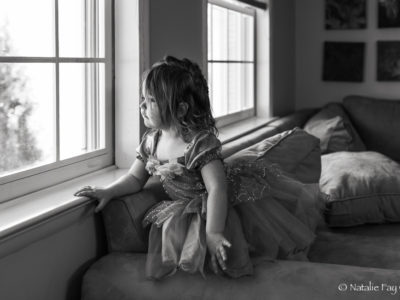 Contemplative (In A Princess Dress)