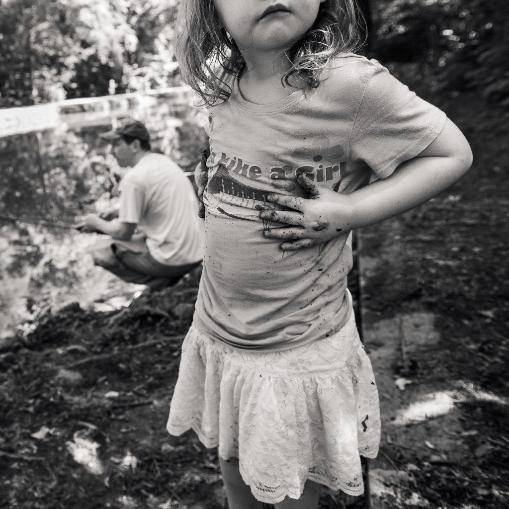 Fish Like a Girl portrait photograph