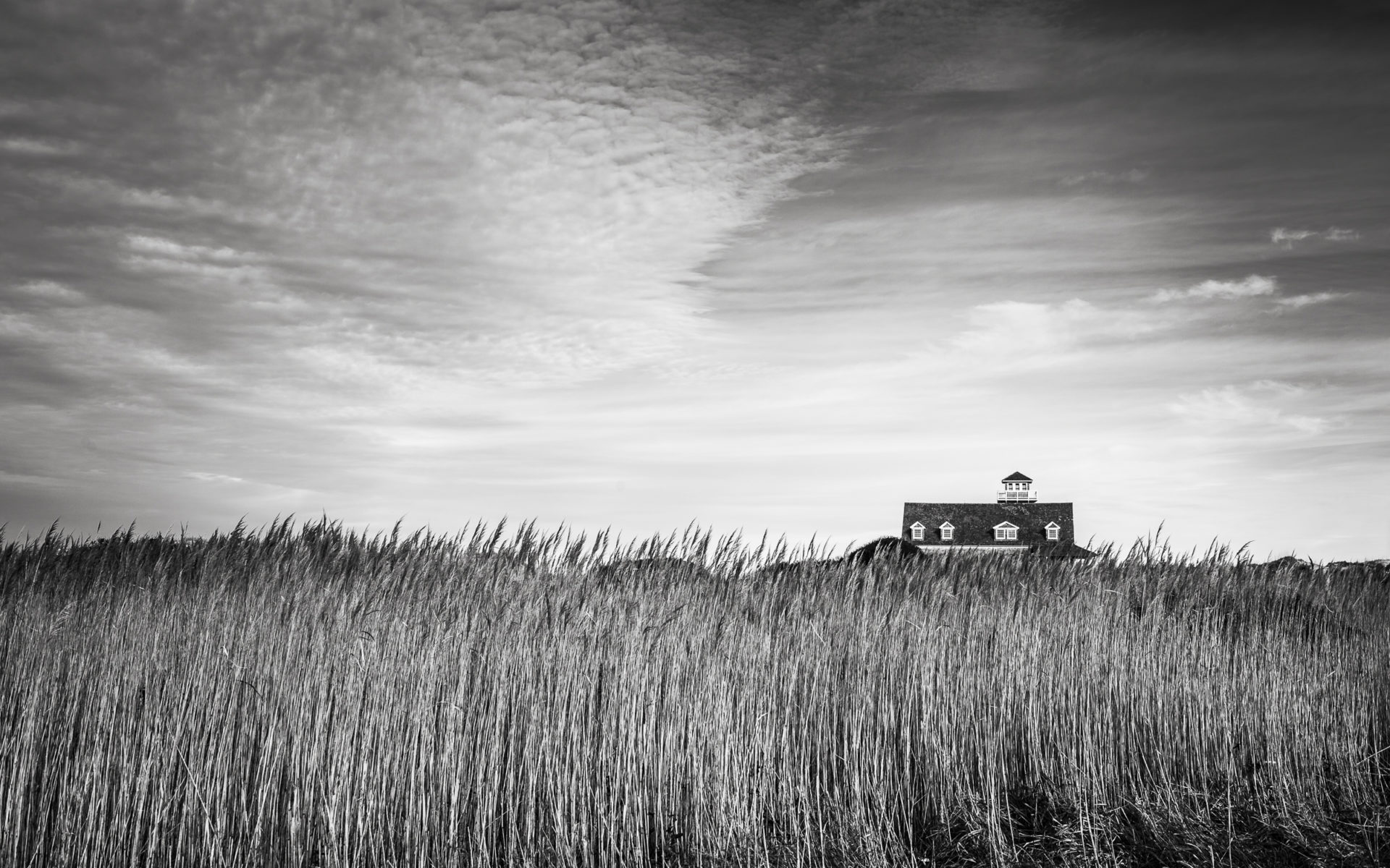 Oregon Inlet Life Saving Station in the Outer Banks