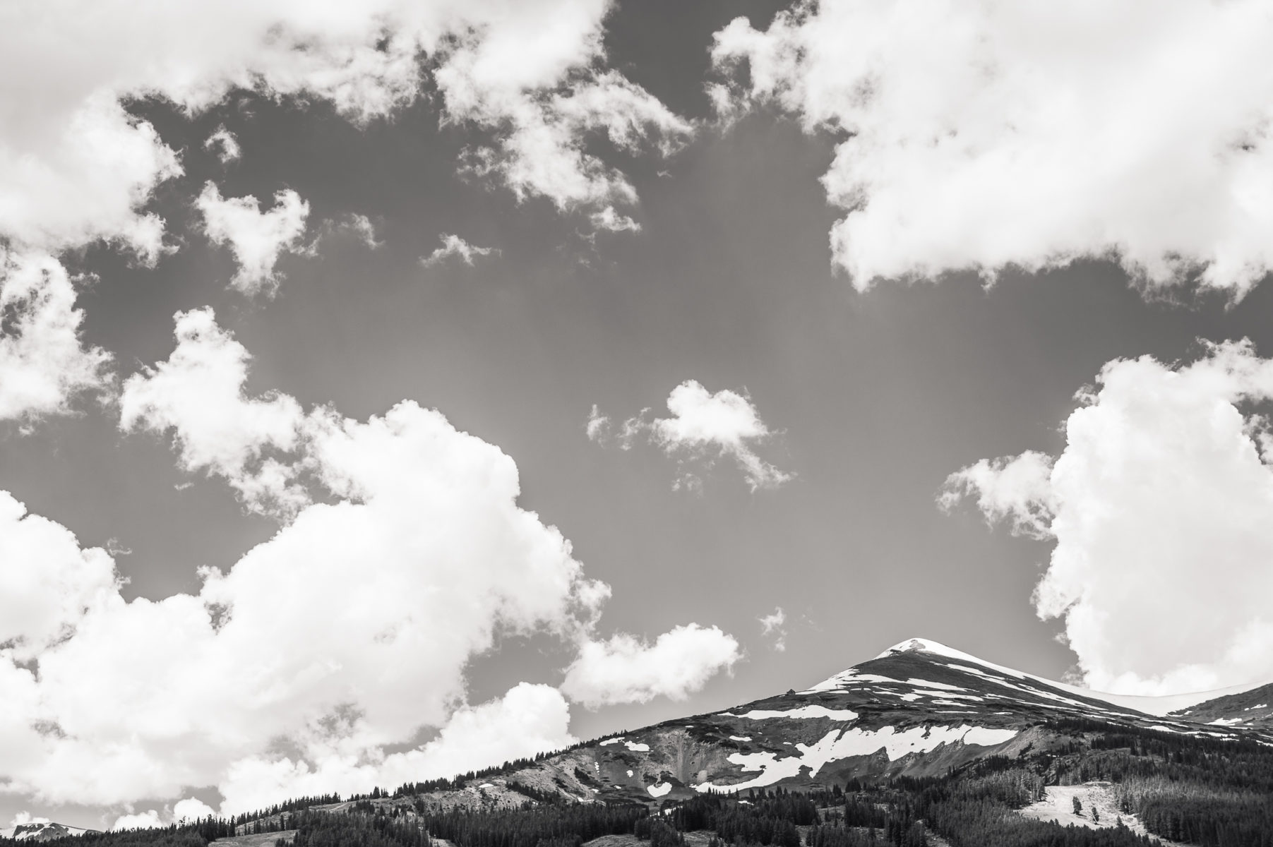Breckenridge Mountain in Colorado